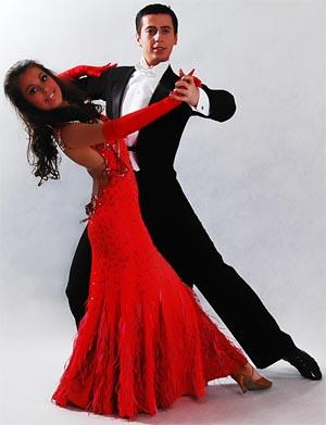 видеоурок парных класических танцев